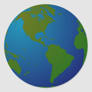 Globe Stickers