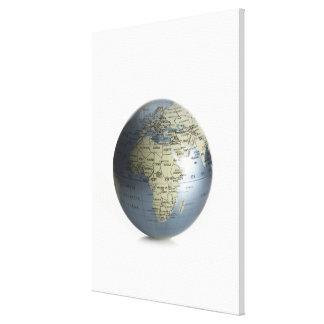 Globe Stretched Canvas Prints