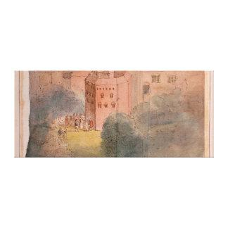 Globe Theatre, Southwark Canvas Print