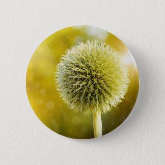 globe-thistle-599653 6 cm round badge