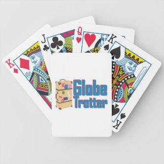 Globe Trotter Poker Deck