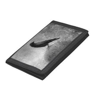 Globe Trotting Crow Tri-fold Wallet
