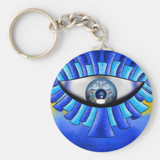 Globellinossa V1 - triple eyes Key Ring