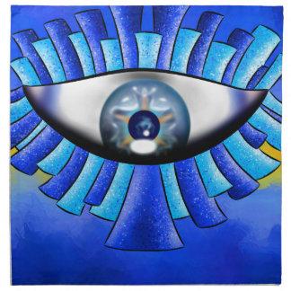 Globellinossa V1 - triple eyes Napkin