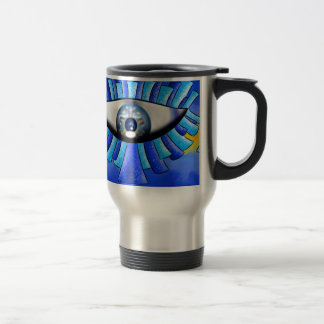 Globellinossa V1 - triple eyes Travel Mug