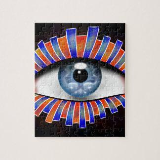 Globellium V1 - an eye on you Jigsaw Puzzle