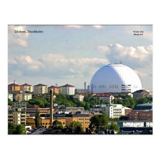 Globen, Stockholm Postcard