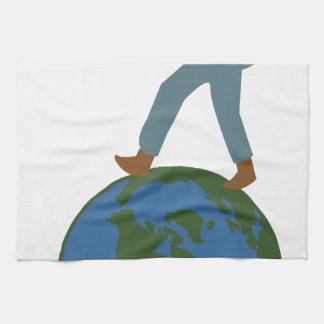 Globetrotter Plan Hand Towels