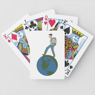 Globetrotter Plan Poker Deck