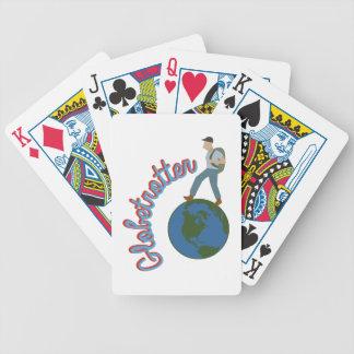 Globetrotter Poker Deck