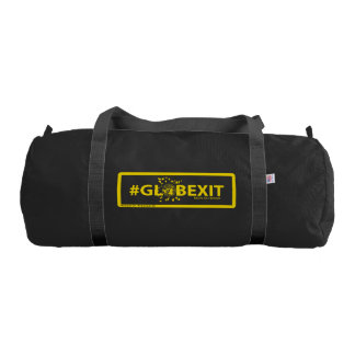 #GLOBEXIT Gym Duffle Bag (Yellow)