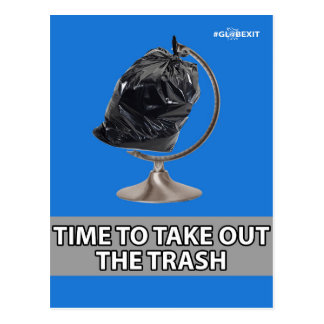 #GLOBEXIT TRASH CARD (Flat Earth 2017 Collection)