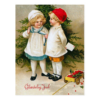 """Gloedelig Jul"" Postcard"