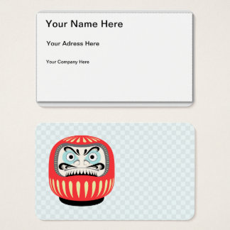 Glooma Daruma Business Card