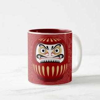 Glooma Daruma Two-Tone Coffee Mug