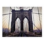Gloomy Brooklyn Postcard