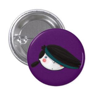 Gloomy in Purple Button