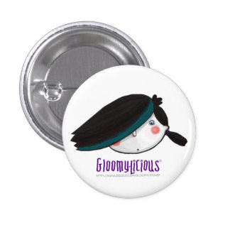 Gloomy s Head Logo Pin