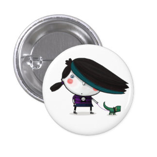 Gloomylicious Blank Pinback Buttons