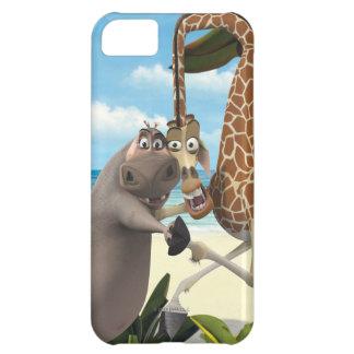 Gloria and Melman Hand Holding iPhone 5C Case