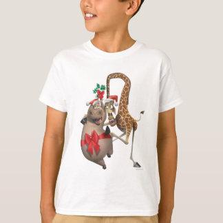 Gloria and Melman Holiday T-Shirt