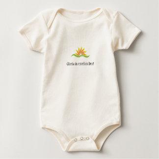 Gloria in excelsis Deo! (baby) Baby Bodysuit