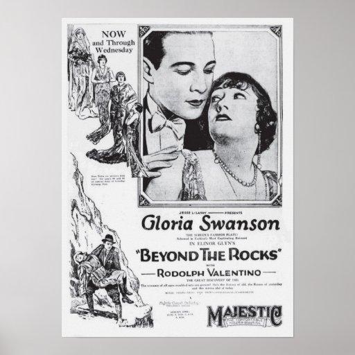Gloria Swanson 1922 vintage movie ad poster