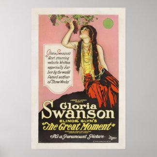 Gloria Swanson Jesse Lasky Movie Poster