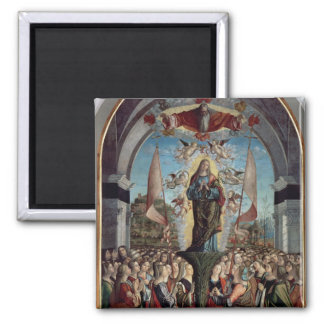 Glorification of St. Ursula and her Companions Square Magnet