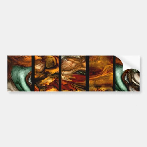 Glorious Art - 5 in 1 Stickers - Trim And Place -- Bumper Stickers