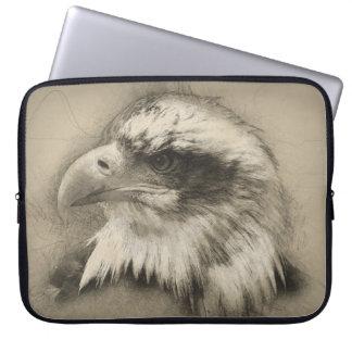 Glorious Bald Eagle Setch Computer Sleeve