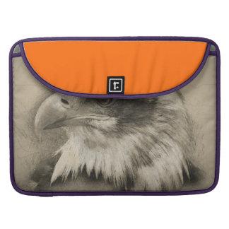 Glorious Bald Eagle Setch Sleeve For MacBook Pro