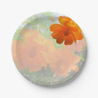 Glorious Cosmos Paper Plate 7 Inch Paper Plate
