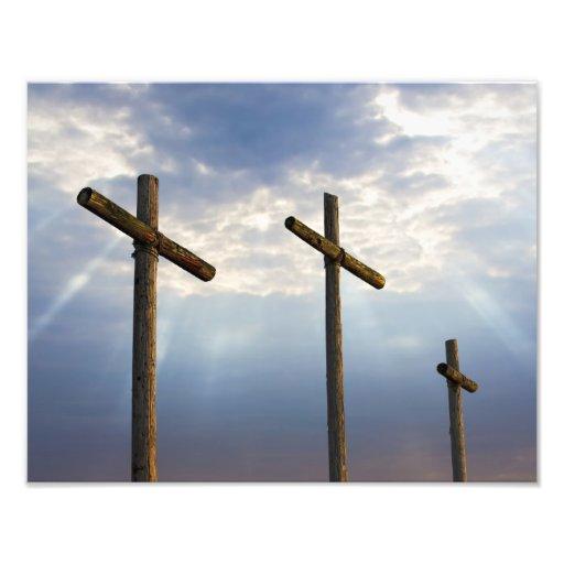 Glorious Cross Photo Print