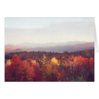 """Glorious fall colors"" Card"