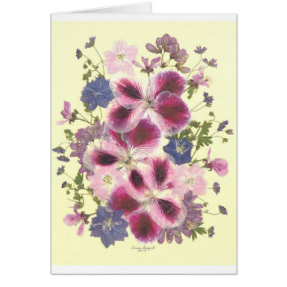 Glorious floral card