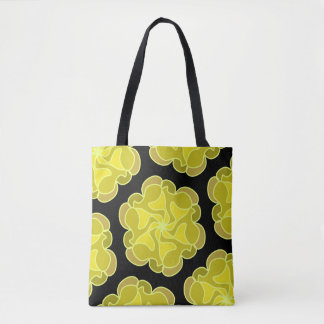 Glorious golden rose tote bag