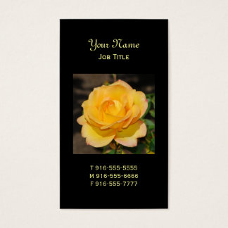 Glorious Rose Business Cards