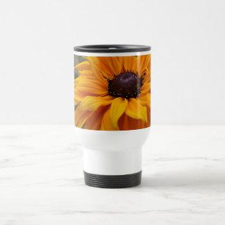 Glorious Yellow Daisy Travel Mug
