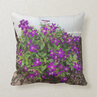 Glory Bush Purple Flowers Cushion