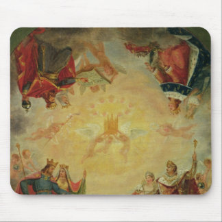 Glory of St. Genevieve Mouse Pad