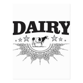 glory of the dairy postcard