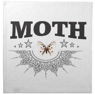 glory of the moth napkin