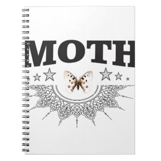 glory of the moth notebook