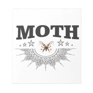 glory of the moth notepad