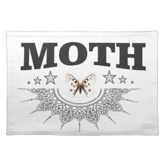 glory of the moth placemat