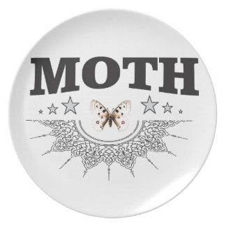 glory of the moth plate