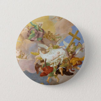 Glory of the New Born Christ by Daniel Gran 6 Cm Round Badge