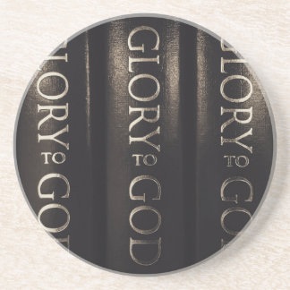 Glory to God Coaster