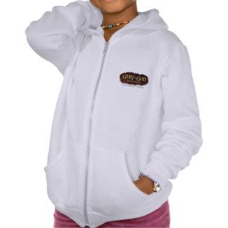 Glory to God Girl's Fleece Zip Hoodie